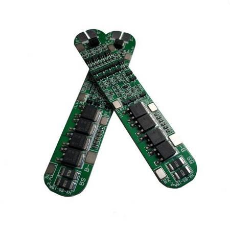 Moduł BMS PCM PCB ładowania i ochrony ogniw Li-Ion - 5S - 18,4V - 15A - do ogniw 18650