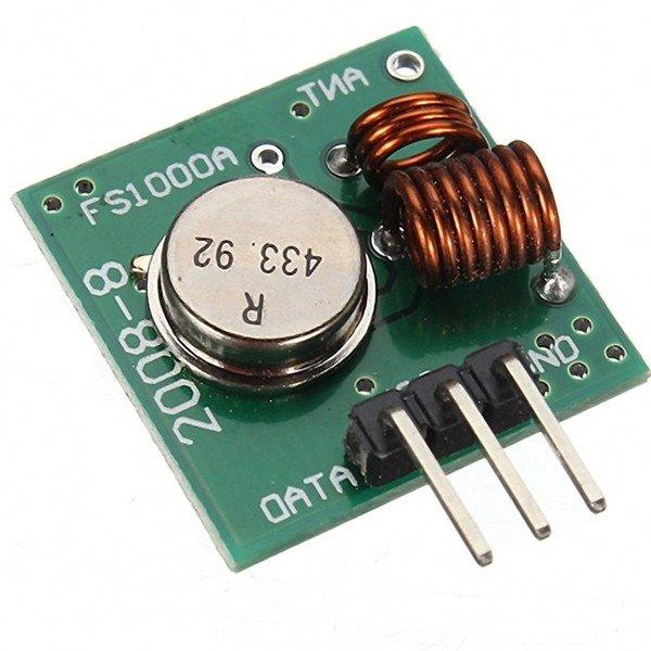 Moduł Radiowy Rf 433mhz Arduino Nadajnik I Odbiornik Arduino