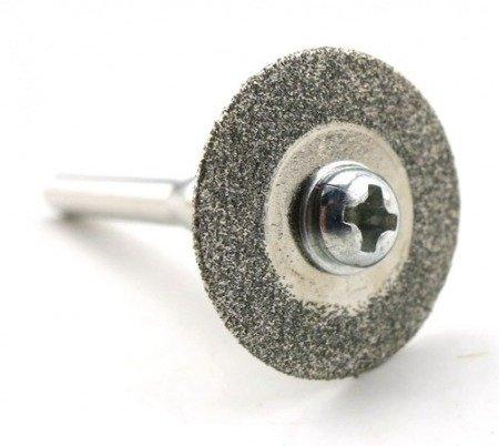 Piła tarczowa do metalu - 30mm - diamentowa - do dremela, mini gumówki