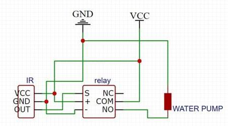 Zestaw KIT do budowy automatycznego dozownika płynu - DIY