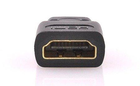 Adapter HDMI na Mini HDMI - wtyki GOLD - FULL HD