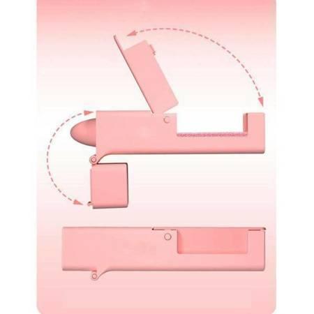Asystent do bezdotykowego otwierania drzwi - różowy - przenośny przycisk windy