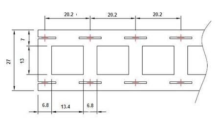 Blaszka do pakietowania ogniw 2P - 27mm (2 ogniwa) - do połączeń równoległych 18650 - 1m