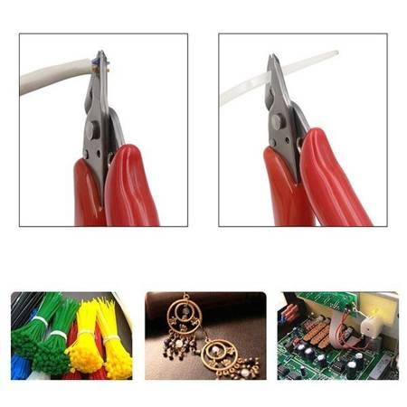 Cążki boczne MINI 90mm - Szczypce ukośne - Precyzyjne obcinaczki boczne