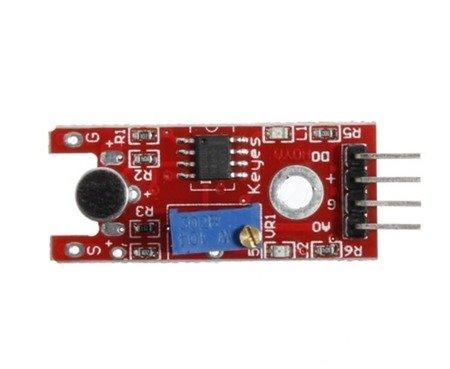 Czujnik dźwięku na LM393 - detektor hałasu do Arduino - RobotLinking