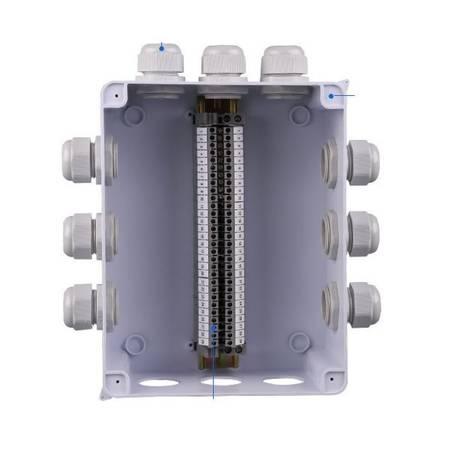 Dławnica kablowa PG13.5 IP68 - Dławik izolacyjny - Złącze kablowe