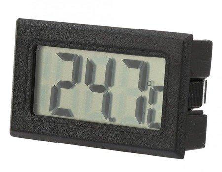 Elektroniczny Termometr LCD  od -50°C do 70°C - wbudowany termometr