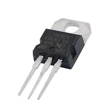 Elektronika - Stabilizator L7805CV 5V 1,5A - obudowa TO-220
