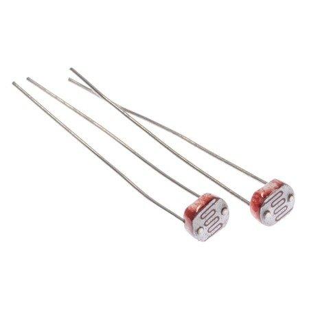 Fotorezystor GL5528 10k-20k - LDR 5mm 5528 - Arduino - 10 szt