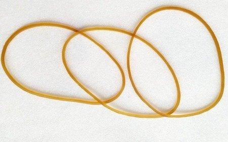 Guma modelarska 1mm - pierścień 100mm - do gumówek - 3szt