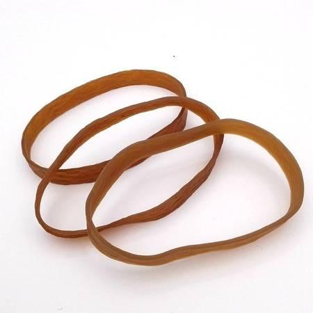 Guma modelarska - pierścień 200mm - z silikonem - brązowa
