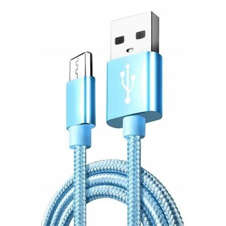 Kabel USB - micro USB - do szybkiego ładowania 3A - mix kolor - 100cm