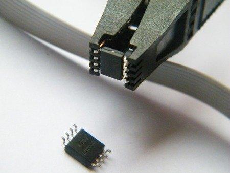 Klips Pomiarowy do SOP8 DIP8 SO8 - programowanie bez wylutowywania