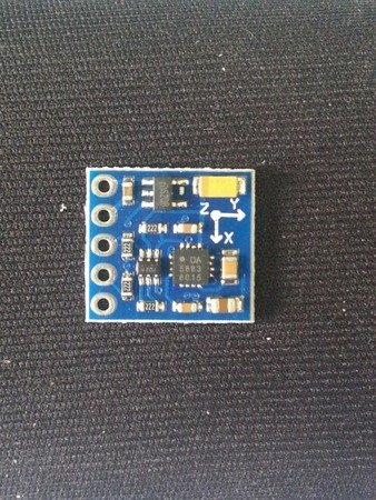 Kompas DA 5883 na QMC5883L - 3-osiowy cyfrowy kompas magnetometr