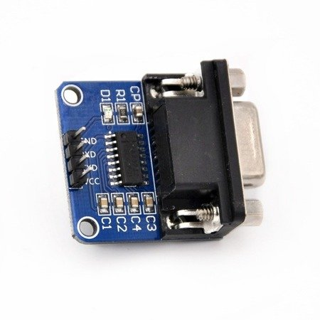 Konwerter RS232-TTL MAX3232 z gniazdem DB9 - Interfejs RS232 Arduino