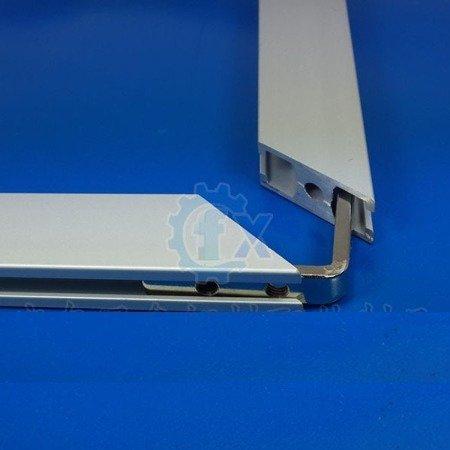 Łącznik kątowy L-Type - wpust - do profili aluminiowych 2040 M8 - TSLOT, T-NUT, TNUT