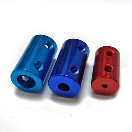 Łącznik osi - adapter z 3.17mm na 5mm - na wał silnika - oś