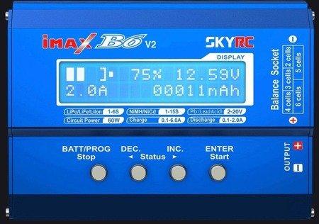 Ładowarka SkyRC Imax B6 - 5A/50W- oryginał