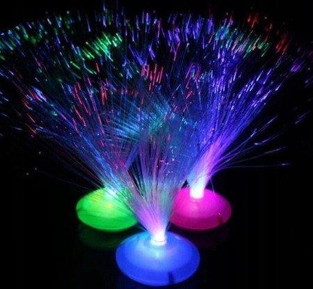 Lampka Światłowodowa UFO - LED - bezprzewodowa - 30cm