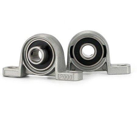 Łożysko samonastawne w aluminiowej obudowie - KP000 - 10mm - podpora wałka