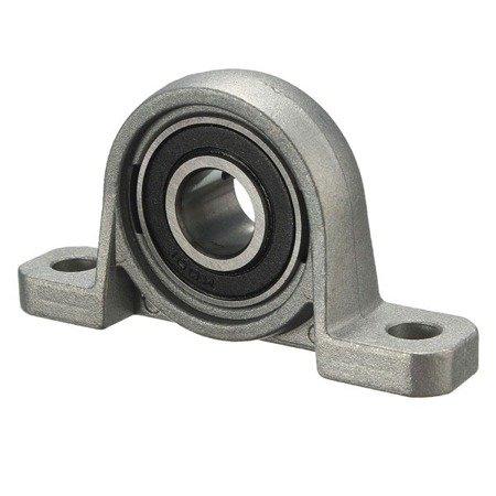 Łożysko samonastawne w aluminiowej obudowie - KP001 - 12mm - podpora wałka