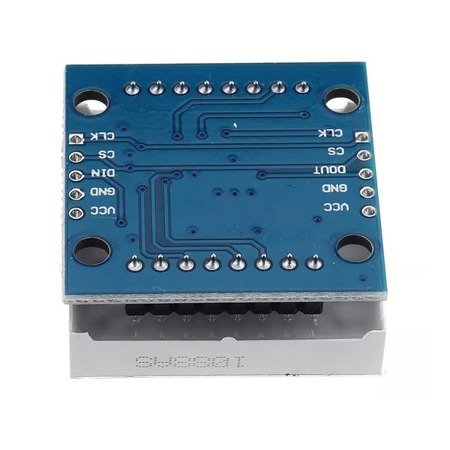 Matryca LED 8x8 + sterownik MAX7219 - LED czerwone - moduł Arduino