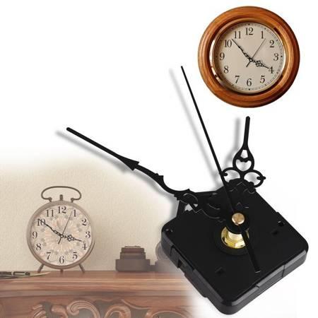 Mechanizm kwarcowy do zegara ściennego z ozdobnymi wskazówkami DIY