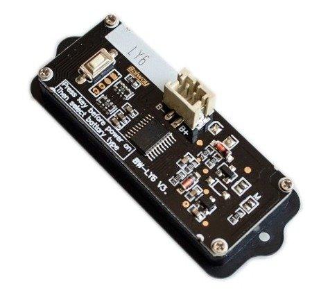 Miernik pojemności akumulatorów - LY6W - 8-63V i baterii litowych i akumulatorów kwasowych 8-48V - obudowie
