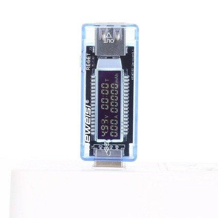 Miernik portu USB - Keweisi KWS-V20 - Woltomierz, amperomierz