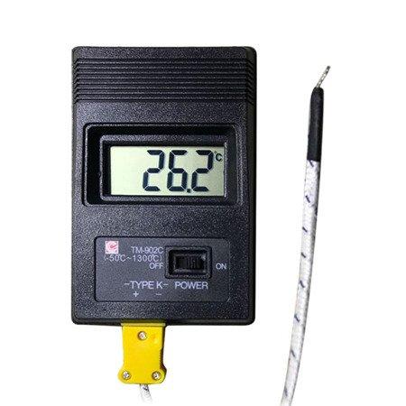 Miernik temperatury TM-902C - Termometr -50°C / 1300°C - termopara typu K