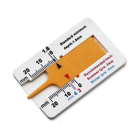 Miernik wysokości bieżnika opon 0-20mm - Głębokościomierz - Suwmiarka