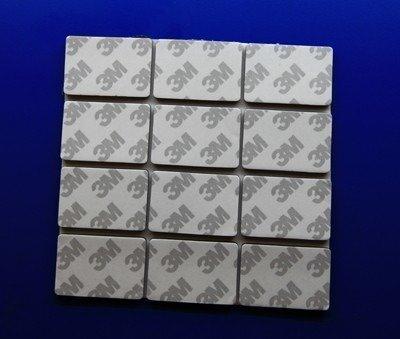 Mikroguma dwustronna z klejem 30x20x1.5mm - firmy 3M - 4 szt