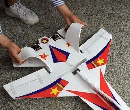Model SU-27 750mm EPP - wersja KIT do składania