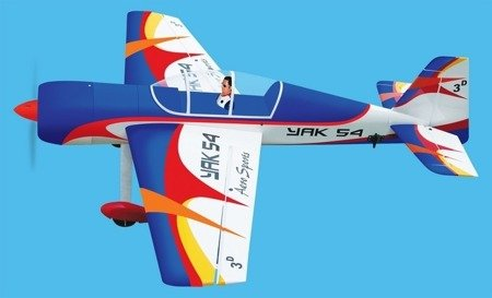 Model YAK-54 - 1700mm - ARF 3D - Black Horse BH048 #3