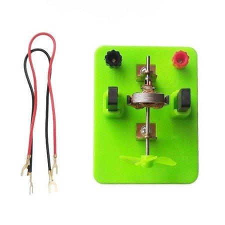 Model silnika na podstawce - do doświadczeń i budowy obwodów elektrycznych