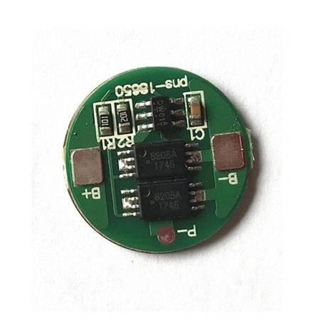 Moduł BMS ładowania i ochrony ogniw 18650 Li-ion - 1S - 3,7V 4,2V - 6A