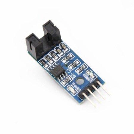 Moduł czujnik szczelinowy, enkoder, transoptor 5mm detektor - komparator LM393