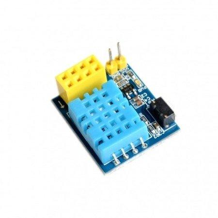 Moduł czujnika temperatury i wilgotności DHT11 do ESP8266 - ESP-01S - ESP-01  - Inteligentny dom