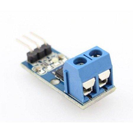 Moduł pomiaru prądu ACS712 - 20A - czujnik / sensor prądu - ARDUINO