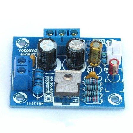 Moduł wzmacniacza audio LM1875T stereo HIFI - 20W - KIT - TDA2030