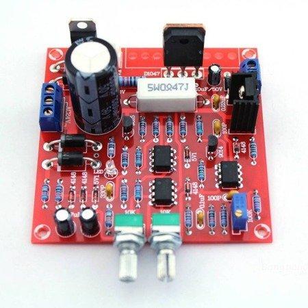Moduł zasilacza z regulacją napięcia i prądu - 0-30V 0-3A - DIY KIT - do samodzielnego złożenia
