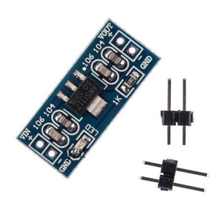 Moduł zasilania AMS1117 - 3,3V 800mA - Arduino LM1117