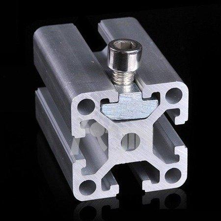 Nakrętka młoteczkowa T - ciężka - M5 - 10szt. - do profili aluminiowych 2020 - TSLOT, T-NUT, TNUT