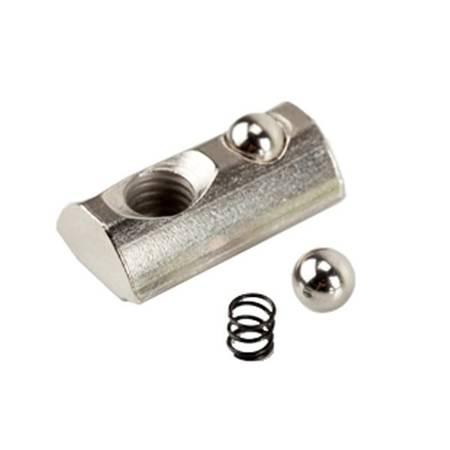 Nakrętka ślizgowa - wpust - M4 z kulką do profili aluminiowych 2020 - 10szt - TSLOT, T-NUT, TNUT