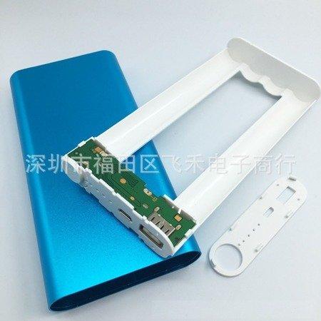 Obudowa na powerbank DIY - 8x18650 - 20800mAh - USB 5V - microUSB