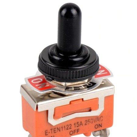Osłona wodoodporna na przełącznik dźwigniowy - WPC-05 - 12 mm