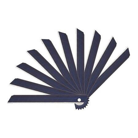 Ostrze zapasowe - czarne - 18mm do nożyka uniwersalnego - 10szt - łamane ostrza