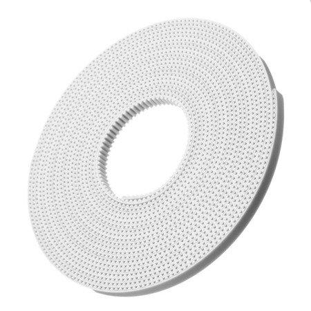 Pasek GT2 High Quality White - 100cm - szerokość 6mm -  RepRap 3D CNC