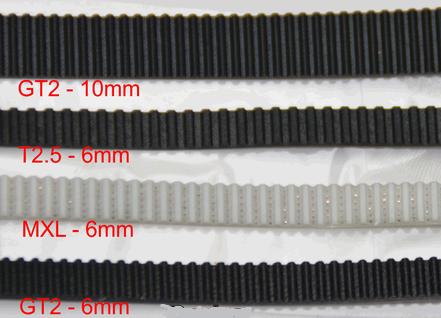 Pasek GT2 - MXL - High Quality White - 100cm - szerokość 6mm - 3D CNC