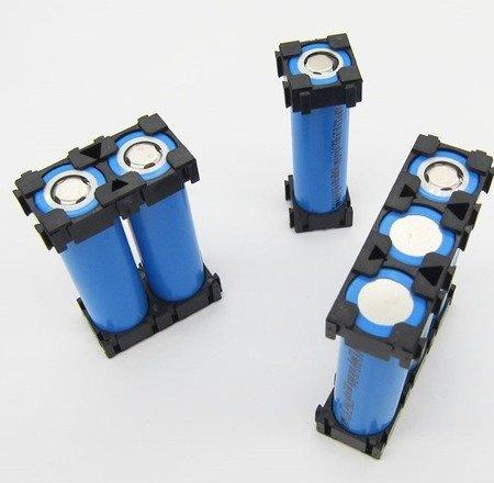 Plastikowa obudowa 1x1 do pakietowania akumulatorów Li-Ion 18650